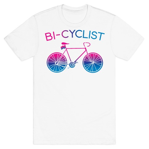 Bisexual Bi-Cyclist T-Shirt