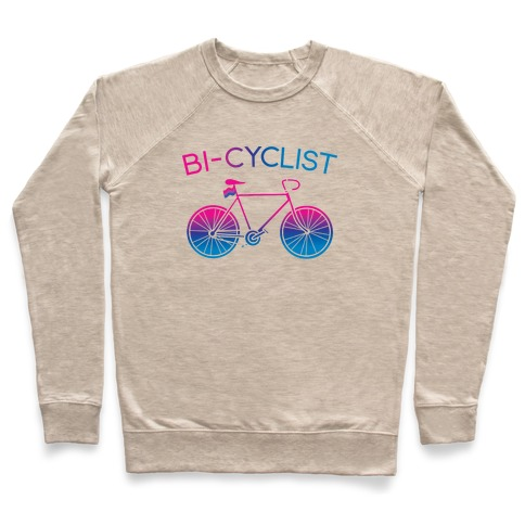 Bisexual Bi-Cyclist Pullover
