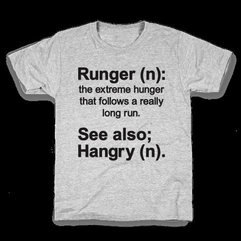 Runger Definition Kids T-Shirt