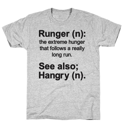 Runger Definition T-Shirt