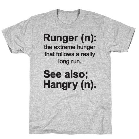 Runger Definition Mens T-Shirt