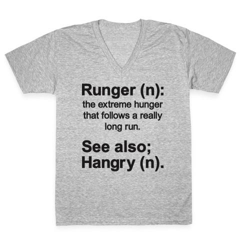 Runger Definition V-Neck Tee Shirt