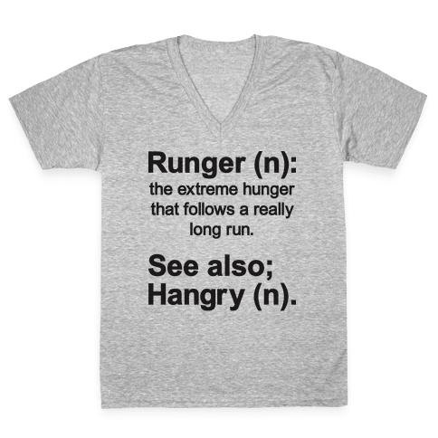 Runger Definition V-Neck Tee Shirt