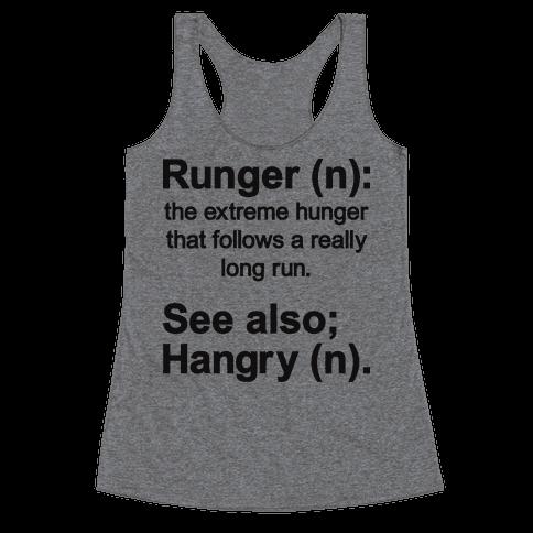 Runger Definition