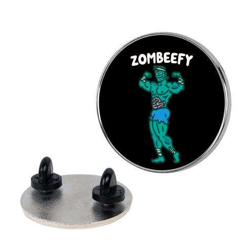 Zombeefy Parody Pin