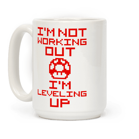 I'm Leveling Up Coffee Mug