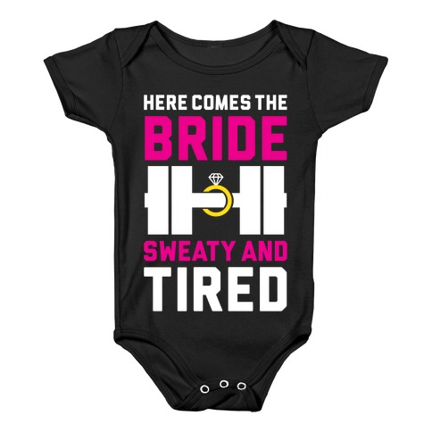 Here Comes The Bride Baby Onesy