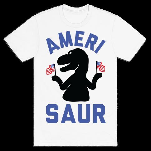 Amerisaur Mens/Unisex T-Shirt