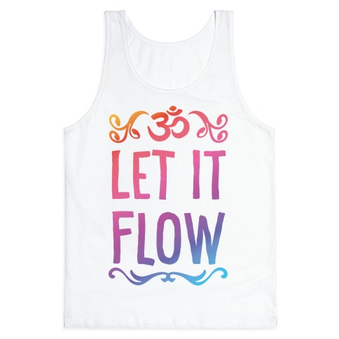 Let It Flow Yoga Tank Top
