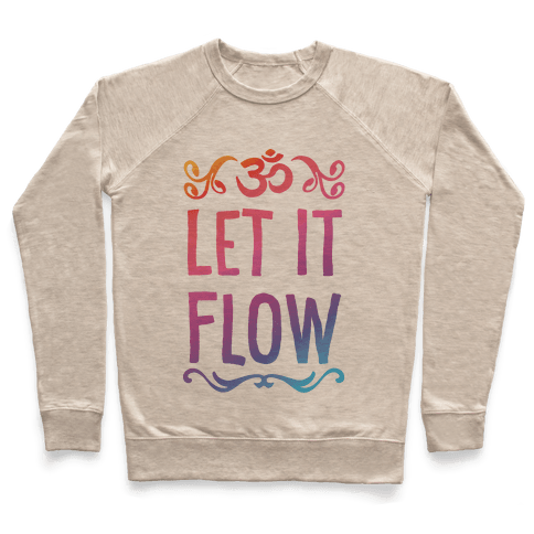 Let It Flow Yoga Pullover