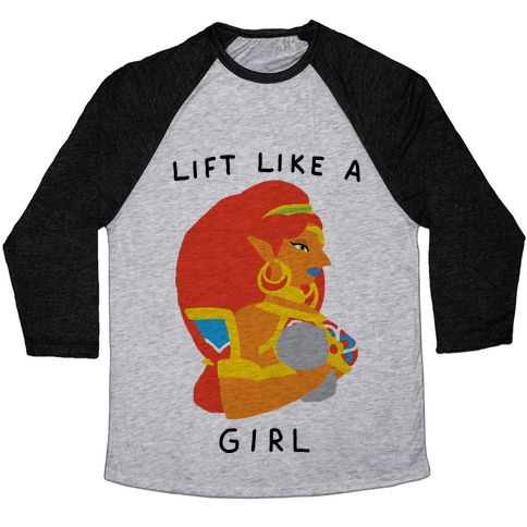 3ff60dd95 Lift Like A Girl Baseball Tee | Activate Apparel