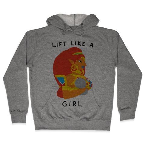 Lift Like A Girl Hooded Sweatshirt