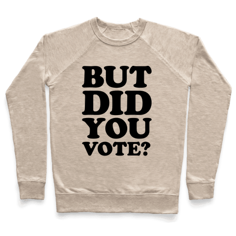 But Did You Vote Pullover