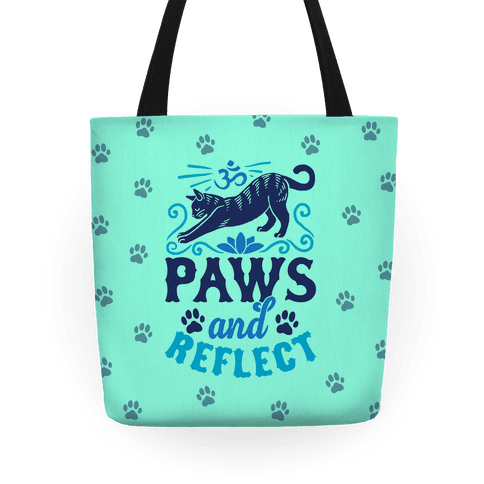 Paws And Reflect (Cat) Tote