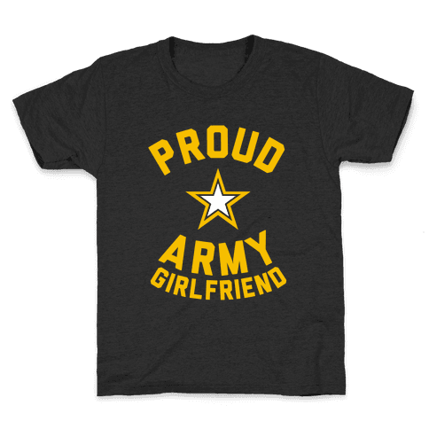 Proud Army Girlfriend Kids T-Shirt