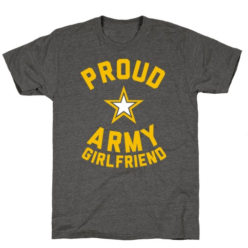 2a9d0fa8 Proud Army Girlfriend T-Shirt | Merica Made