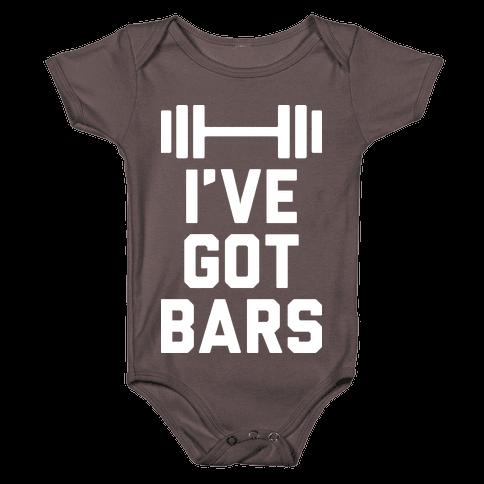 I've Got Bars Baby One-Piece