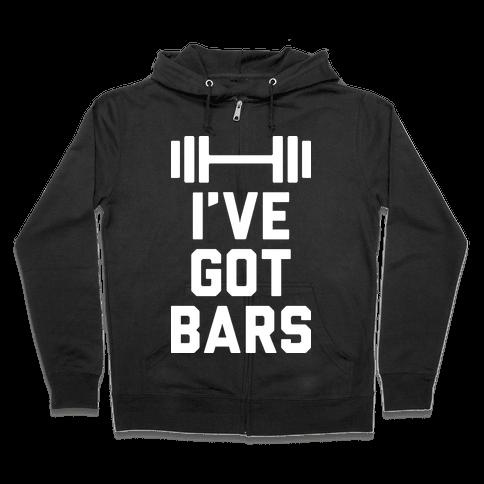 I've Got Bars Zip Hoodie