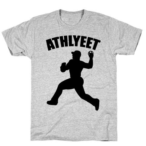 Athlyeet Baseball Mens/Unisex T-Shirt