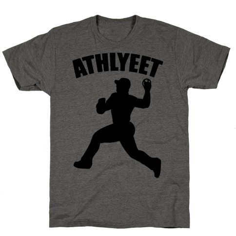 Athlyeet Baseball  T-Shirt