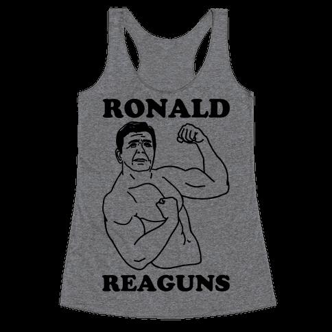 Ronald Reaguns Racerback Tank Top