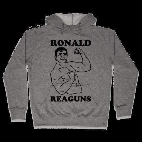 Ronald Reaguns Hooded Sweatshirt