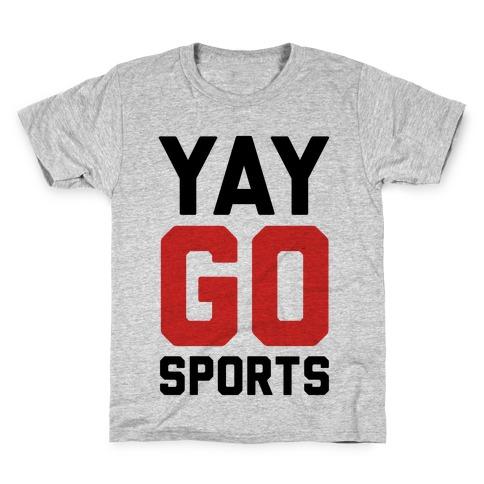 YAY GO SPORTS Kids T-Shirt