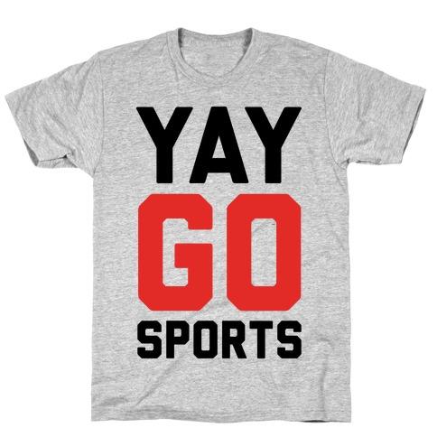 YAY GO SPORTS Mens/Unisex T-Shirt