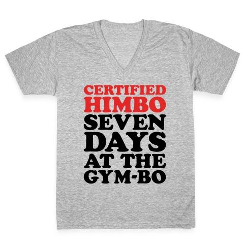 Certified Himbo V-Neck Tee Shirt