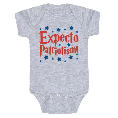 Expecto Patriotism Parody Baby Onesy