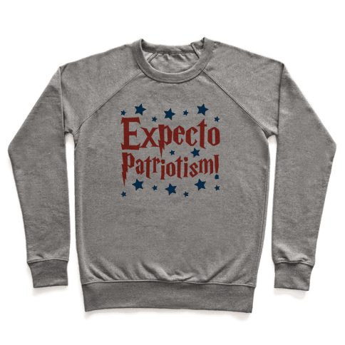 Expecto Patriotism Parody Pullover