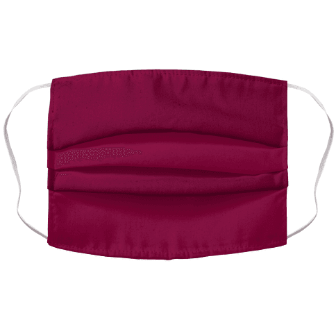 Burgundy Face Mask Cover