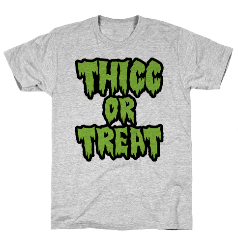 Thicc Or Treat Mens T-Shirt