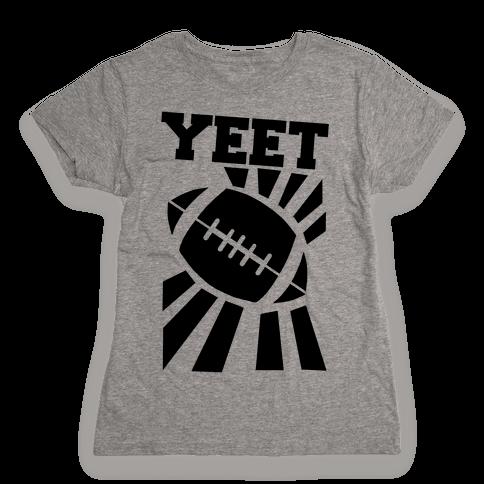 Yeet - Football Womens T-Shirt