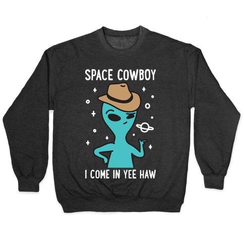Space Cowboy Alien Pullover