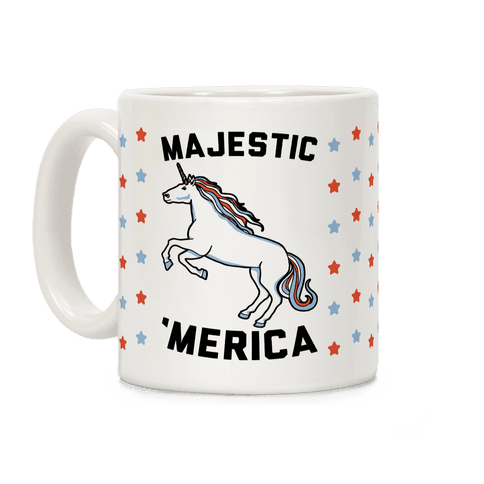 Majestic 'Merica Coffee Mug