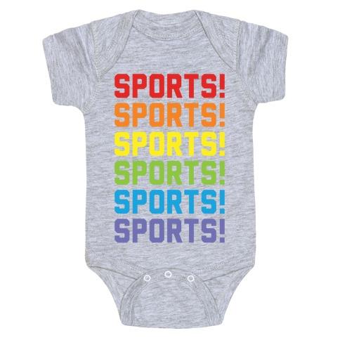 Sports Sports Sports Baby Onesy