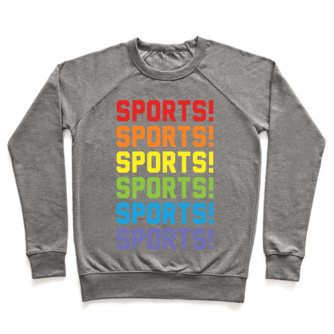Sports Sports Sports Pullover
