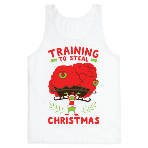Training to Steal Christmas Tank Top