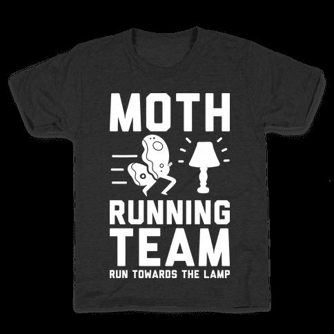 Moth Running Team Kids T-Shirt