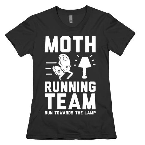 Moth Running Team Womens T-Shirt