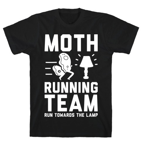 Moth Running Team T-Shirt