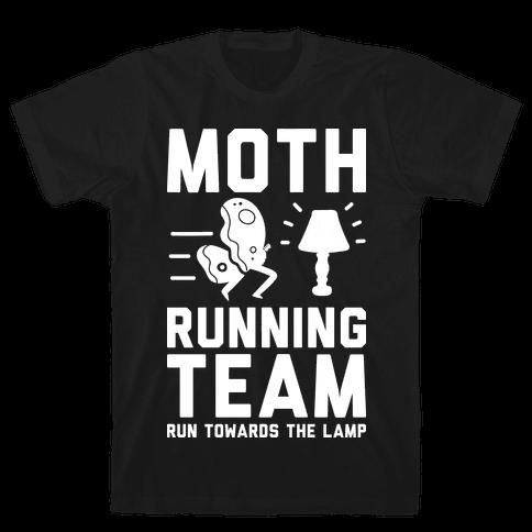 Moth Running Team Tee