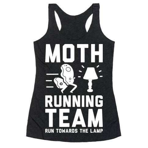 Moth Running Team Racerback Tank Top