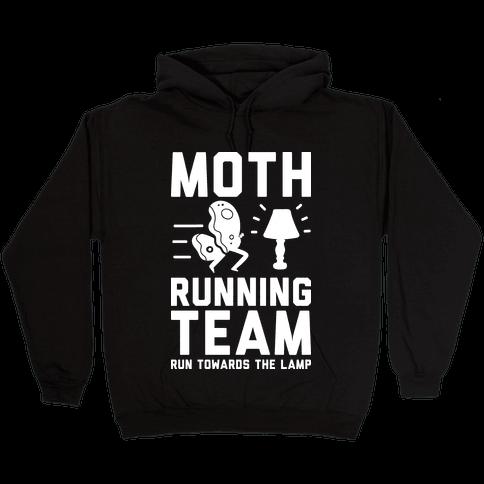 Moth Running Team Hooded Sweatshirt