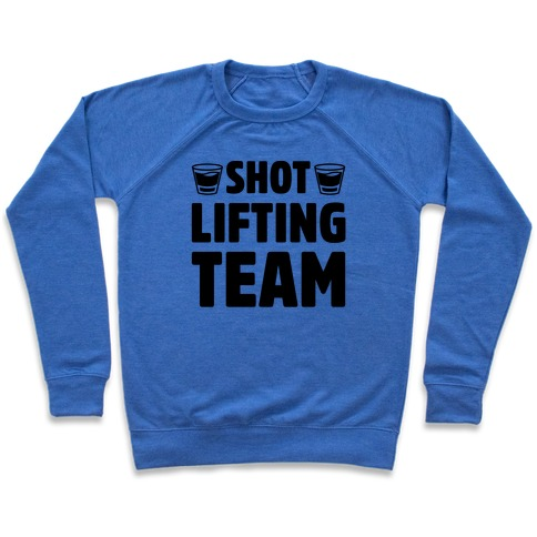 Shot Lifting Team Pullover