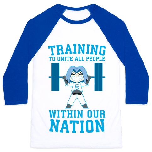 Training To Unite All People Within Our Nation Baseball Tee