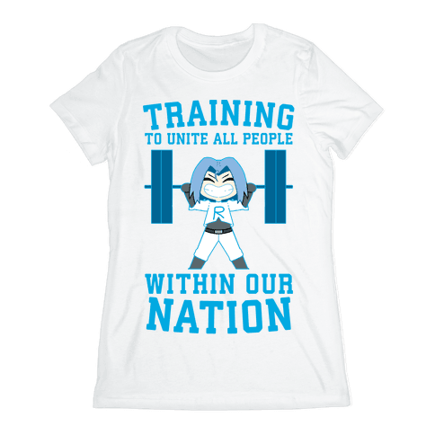 Training To Unite All People Within Our Nation Womens T-Shirt