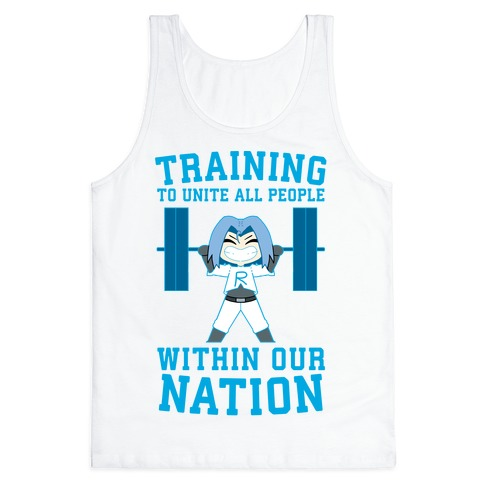 Training To Unite All People Within Our Nation Tank Top
