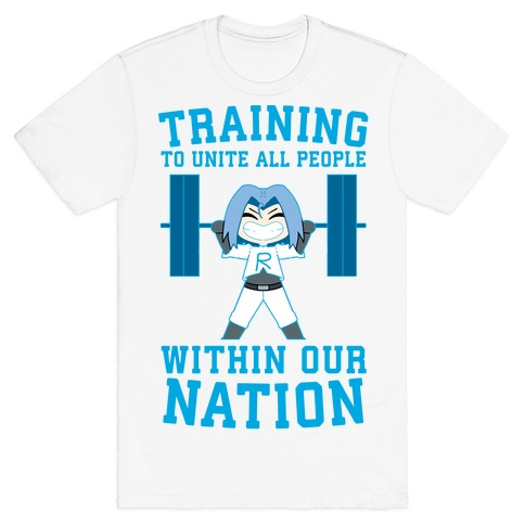 Training To Unite All People Within Our Nation T-Shirt